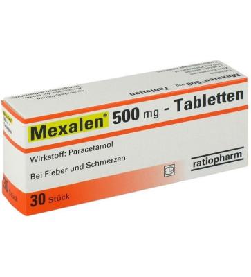 Mexalen Tabletten 500mg 30St