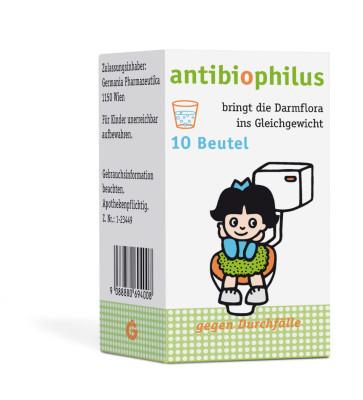 Antibiophilus Beutel 10St