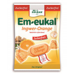 Em-Eukal Bonbons Ingwer-Orange zuckerfrei 75g