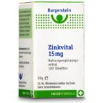 Burgerstein Zink Vital Tabletten 15mg 100St