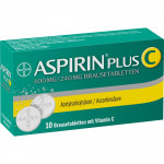 Aspirin plus C Brausetabletten 10St