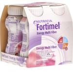 Fortimel Energy MultiFibre Erdbeere 4x200ml