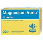 Magnesium Verla Granulat 5g 20St